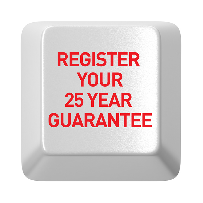Register your 25 year guarantee