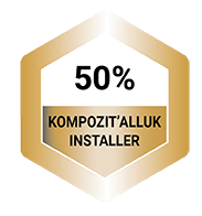 Bottom 50% Kompozit'AllUK Installer