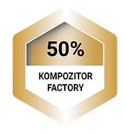 Top 50% Kompozitor Factory