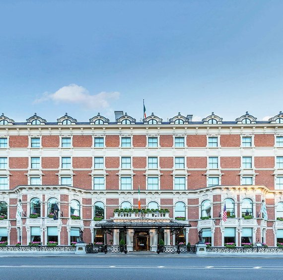 The Shelbourne Hotel in Dublin Ireland