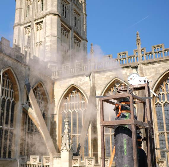 VentilFlex Case Study – A Ventilation Solution for Bath Abbey
