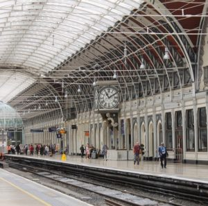 london paddington railway station