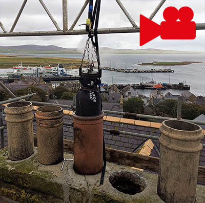 Maintaining Chimney Flue Size – FuranFlex Case Studies